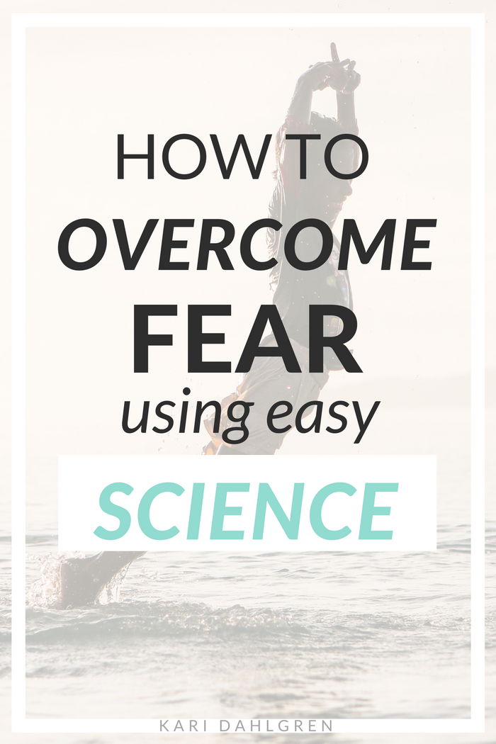 Learn how to TURN FEAR OFF using the latest brain science - a must-read for all personal development enthusiasts