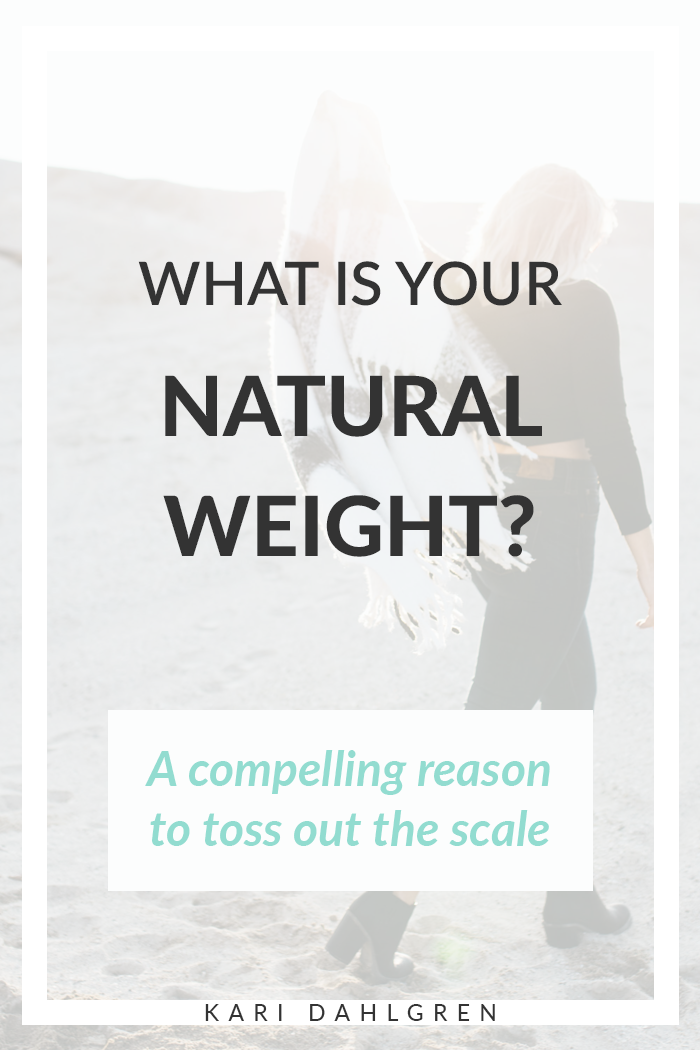 Weight loss shouldn't be about a number