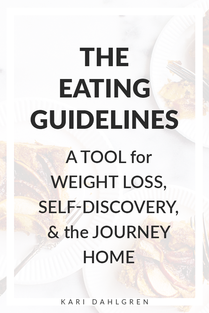 The eating guidelines by Geneen Roth explained
