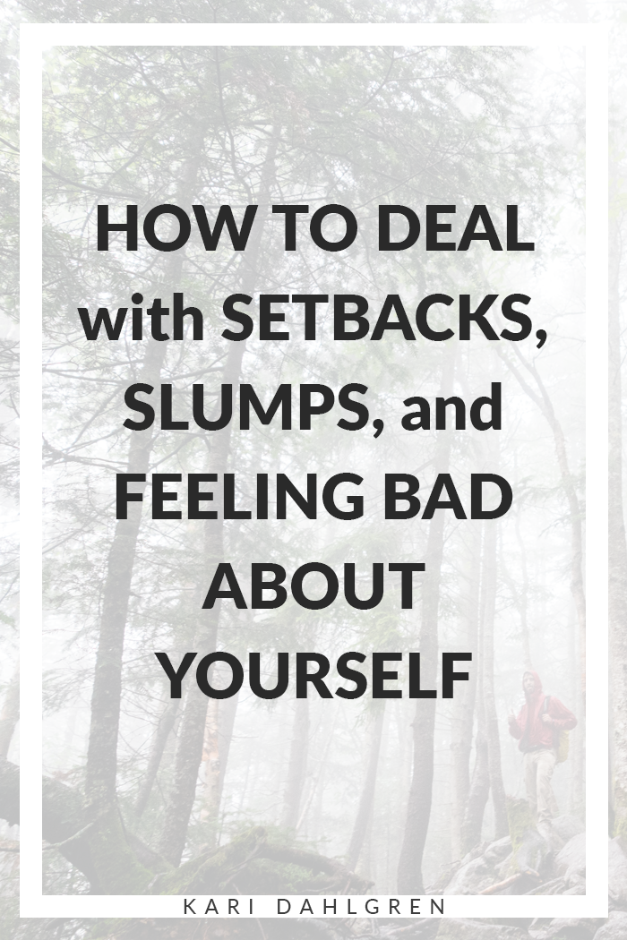 Learn how to deal with setbacks by discovering the thing we so often forget.
