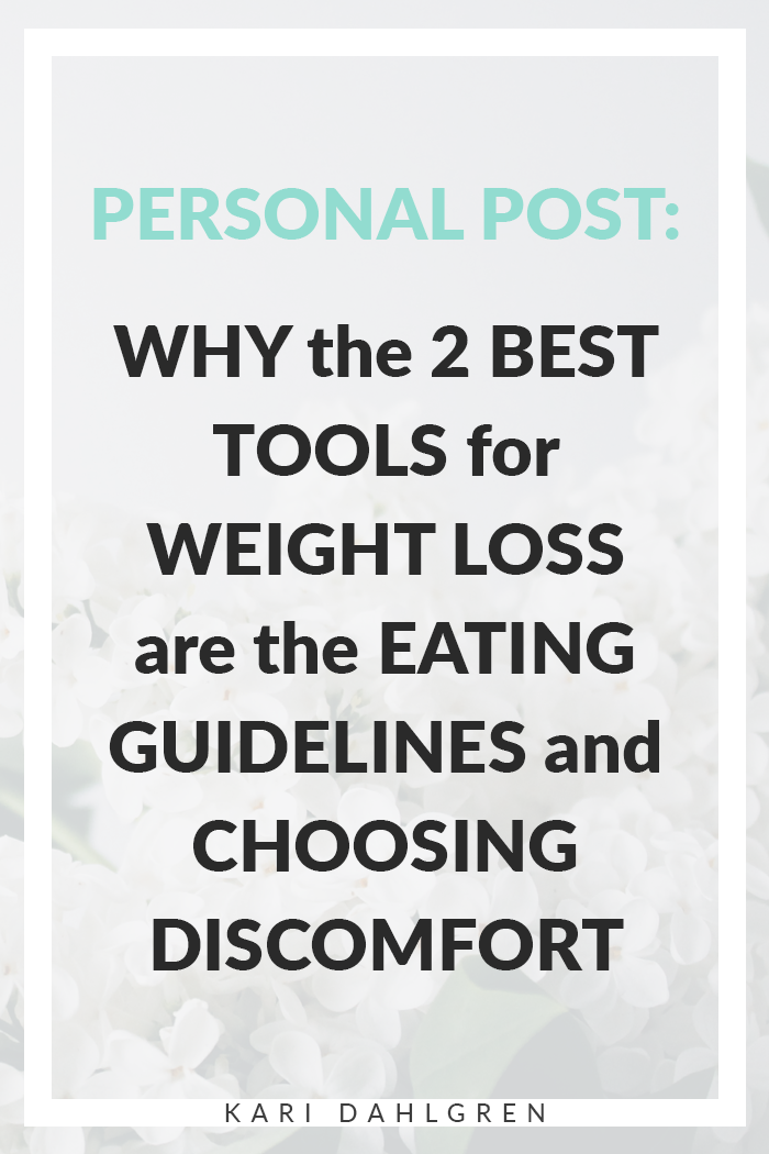 The best tools for weight loss