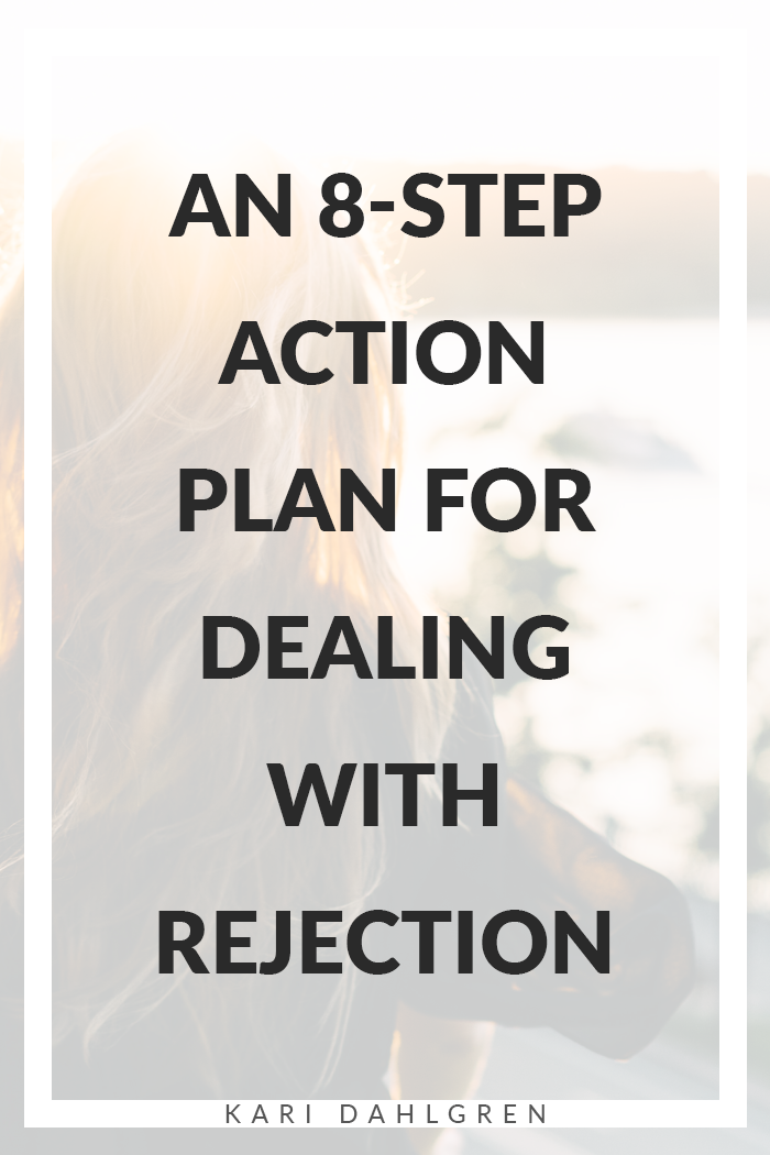 Learning how to deal with rejection is about overcoming self-doubt with self-trust