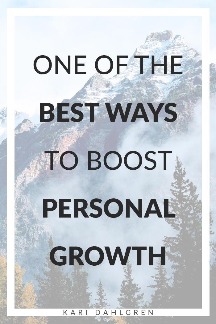 How to boost personal growth