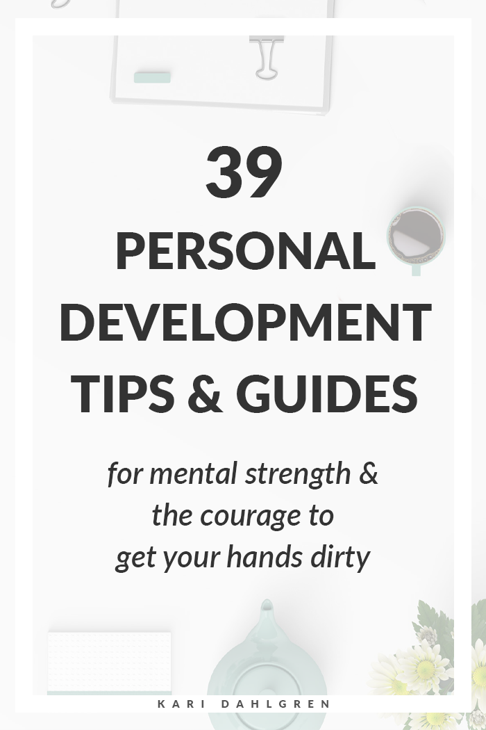 personal development tips and guides for mental strength