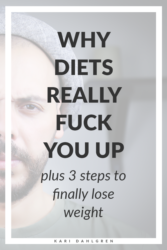 the psycho-spiritual reason why diets don't work