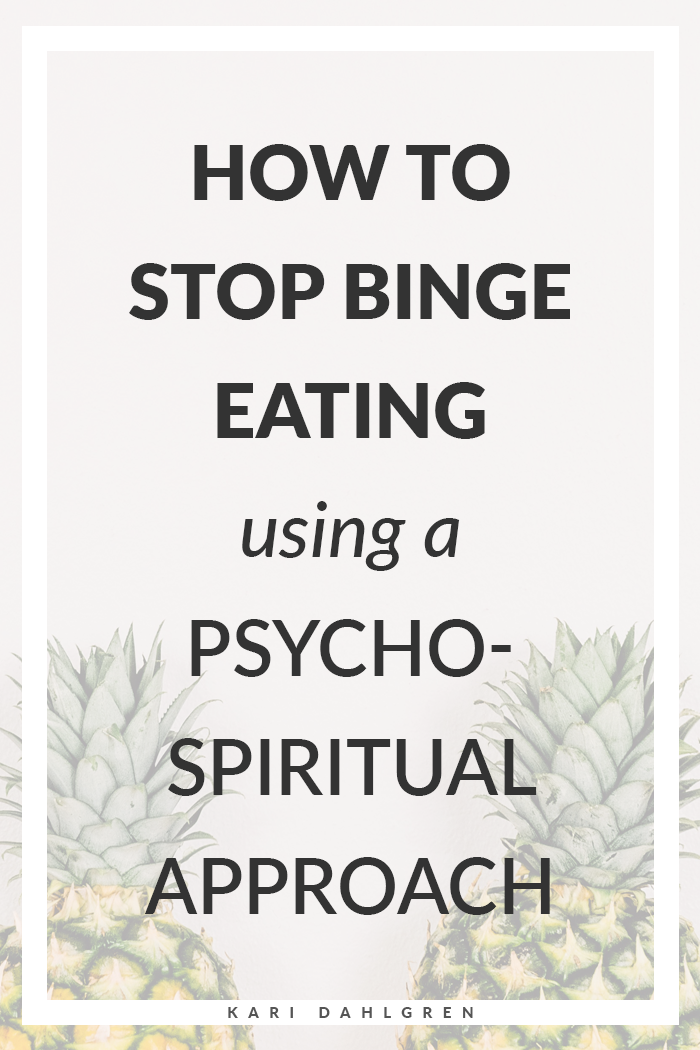 how to stop binge eating using psychology